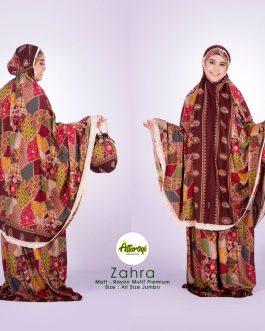 Mukenah ZAHRA rayon potongan motif