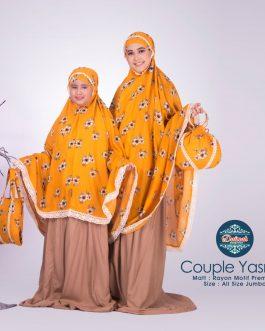 Mukenah Couple YASMIN KUNING